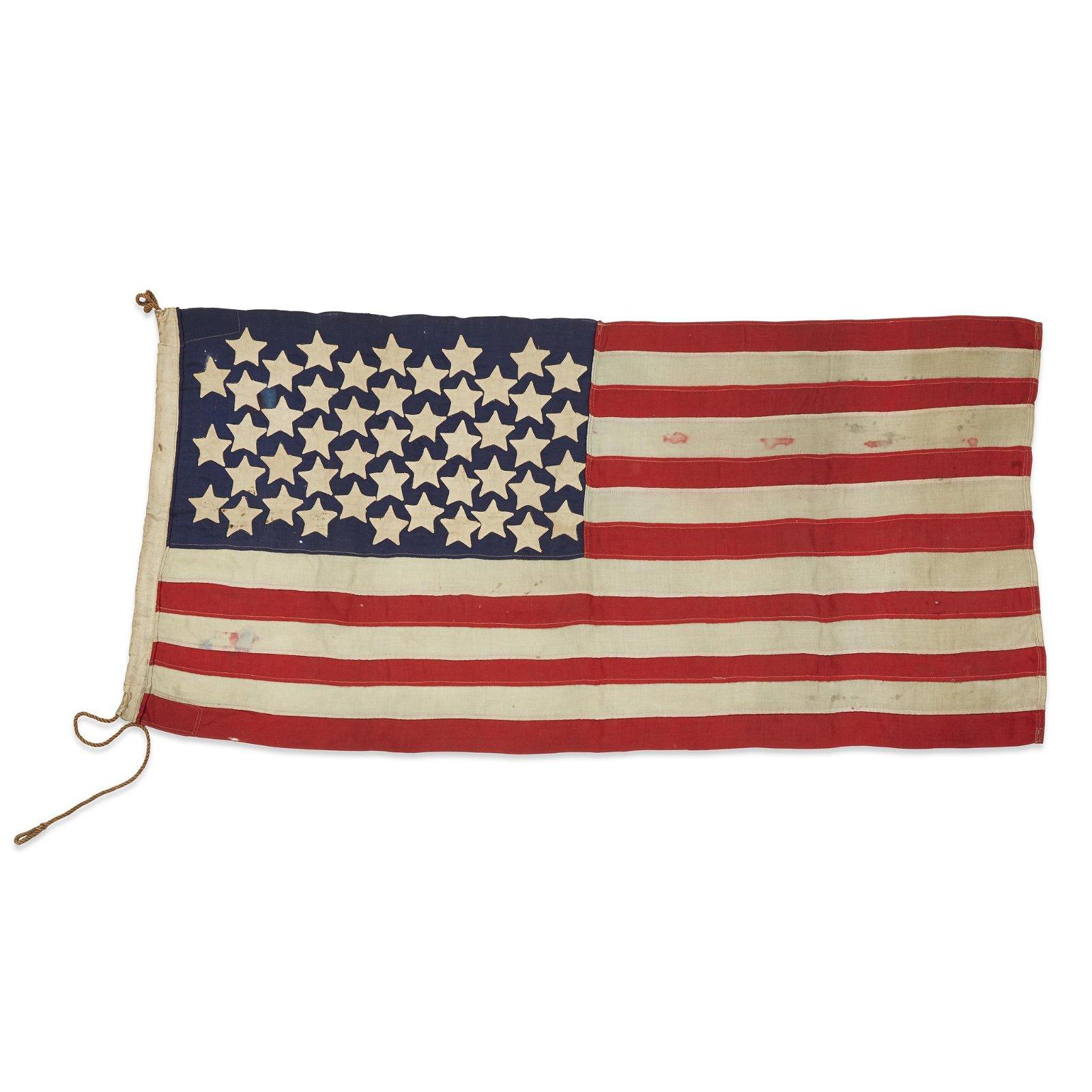 A 48-Star American Flag  , circa 1920