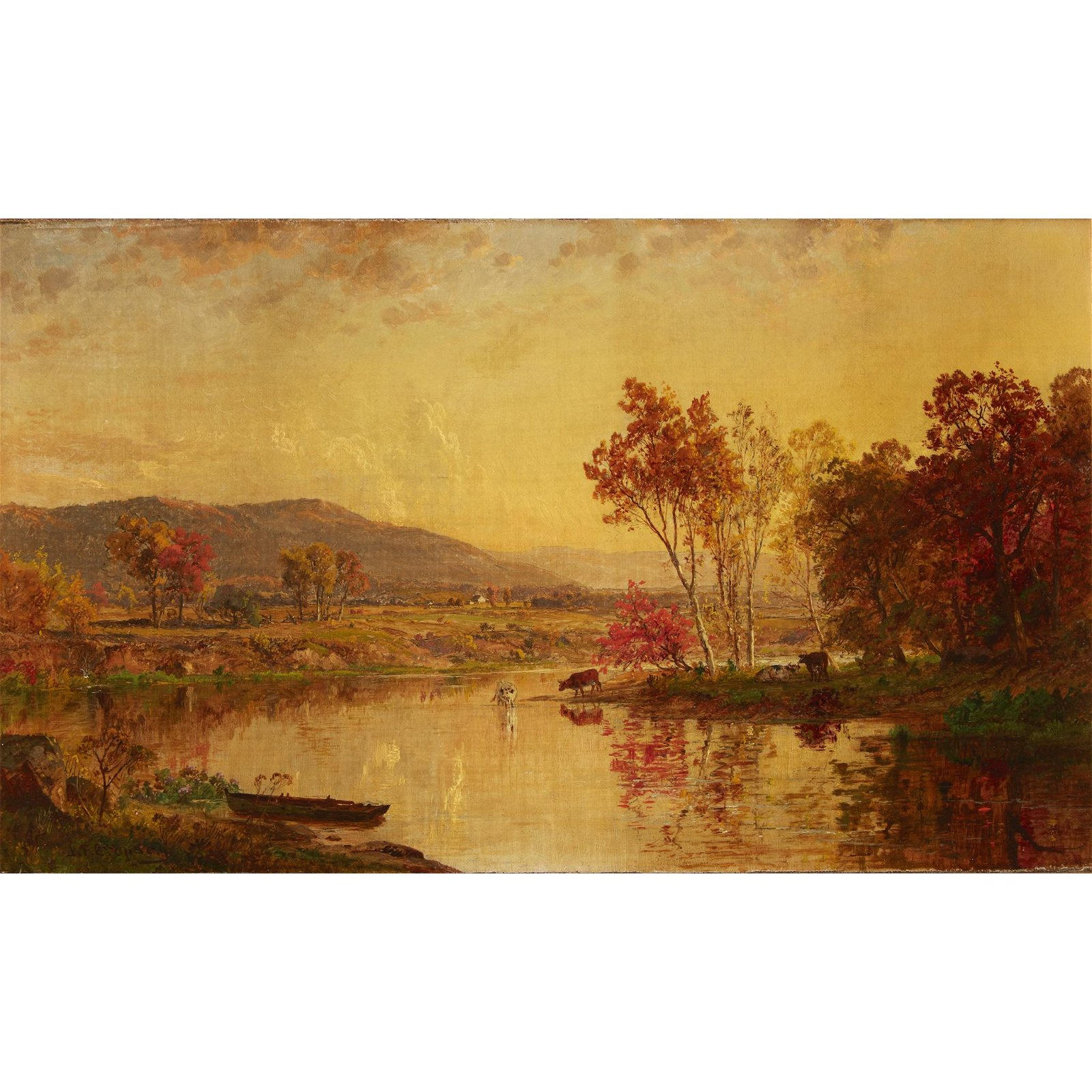 Jasper Francis Cropsey (American, 1823-1900), , An