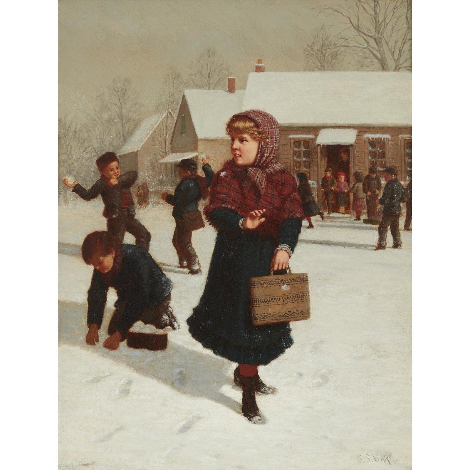 Samuel S. Carr (American, 1837-1908), , School Days