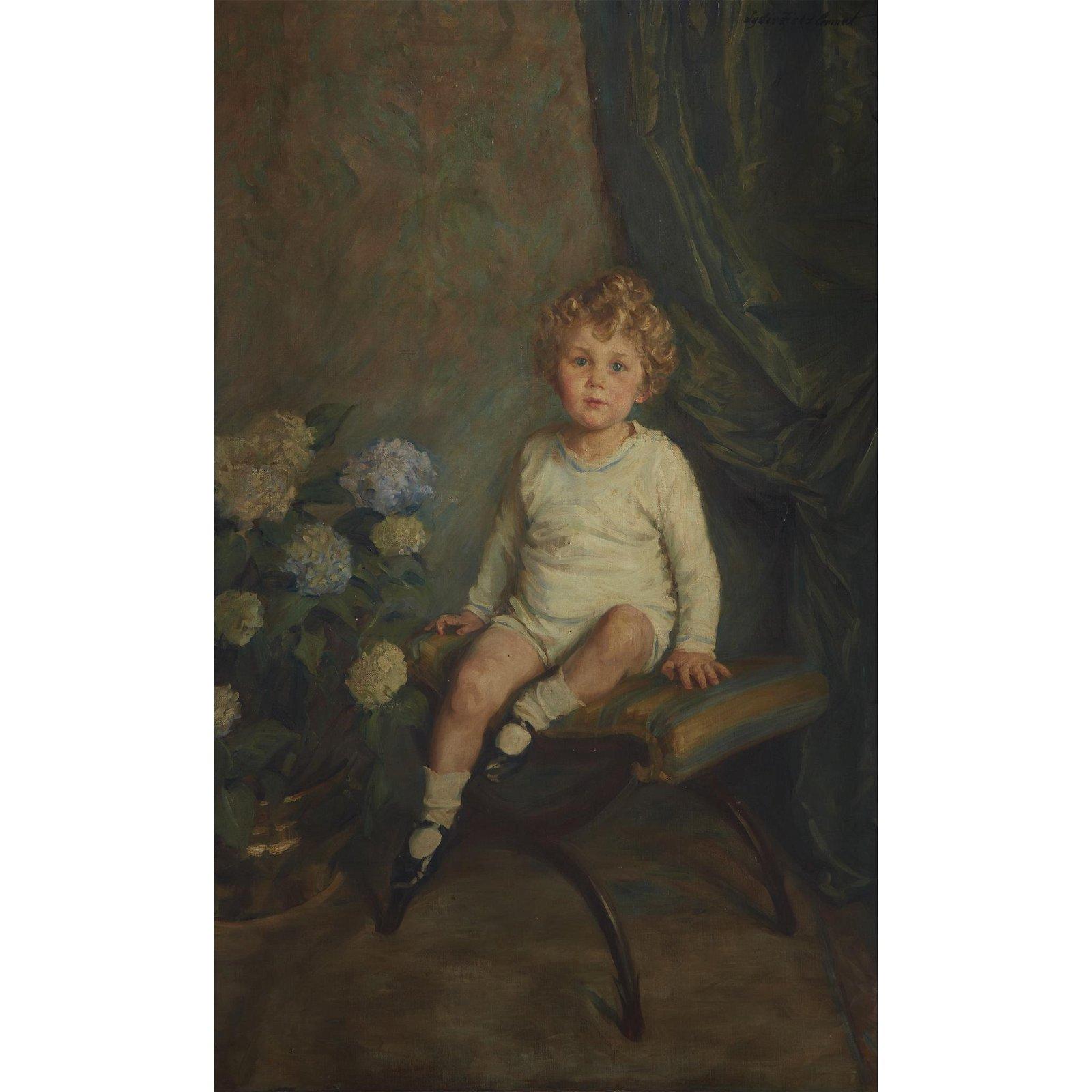 Lydia Field Emmet (American, 1866-1952), , Portrait of