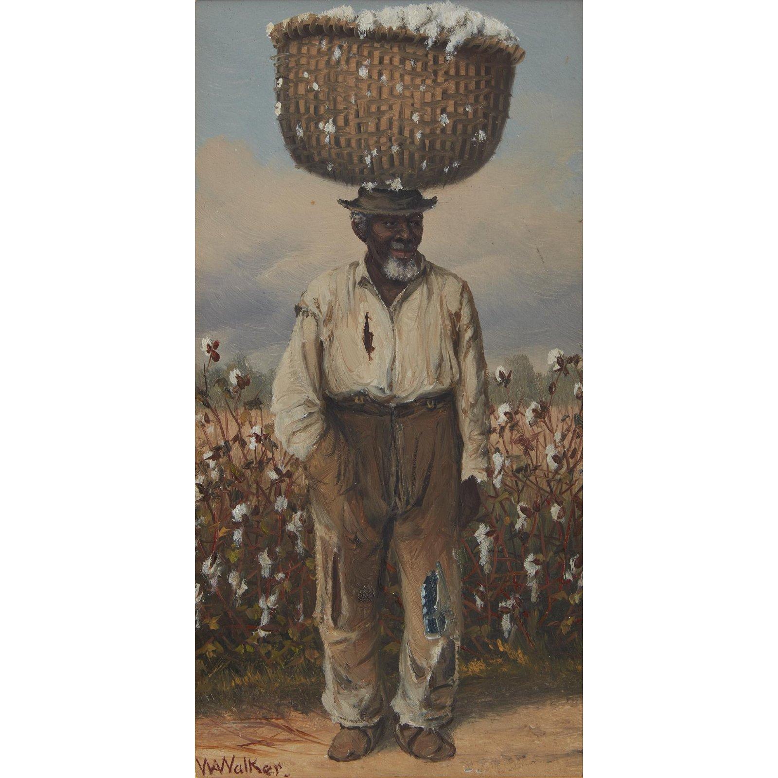 William Aiken Walker (American, 1838–1921), , A Cotton