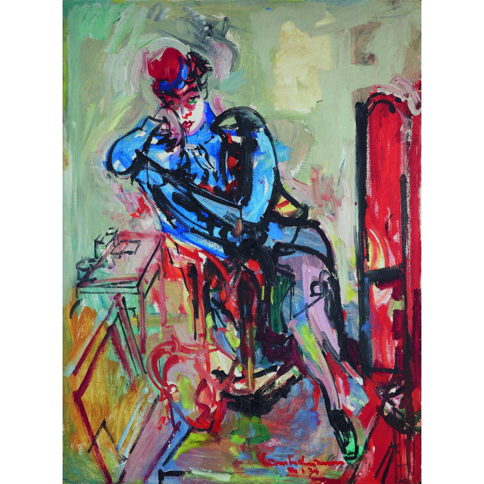 Hans Hofmann (American/German, 1880-1966), , Jeannette