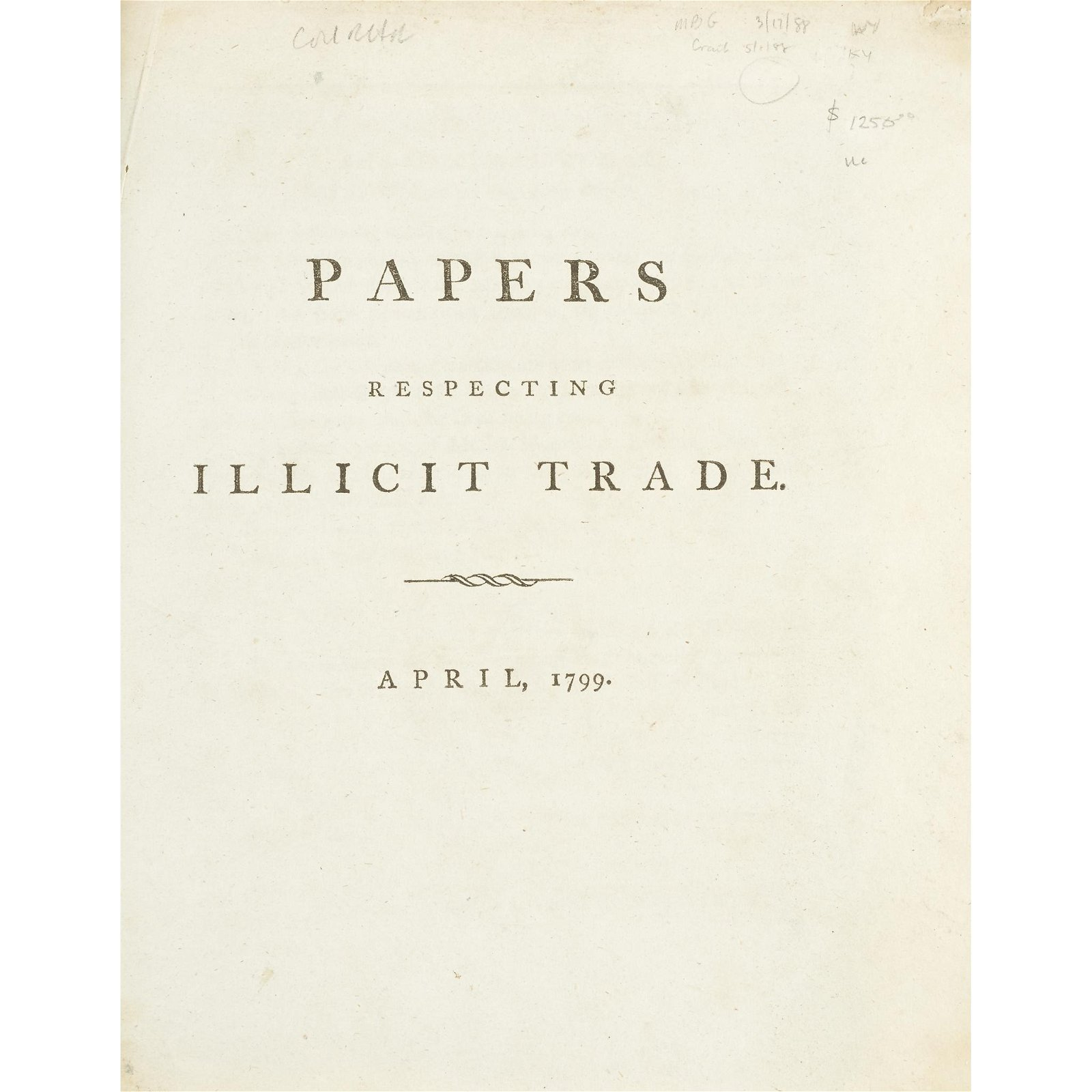 [Business & Industry] [East India Company], Papers