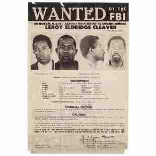 [African Americana] [Cleaver, Leroy Eldridge], Wanted