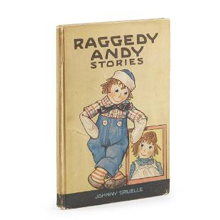 Childrens Illustrated Gruelle Johnny Raggedy