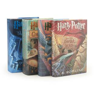 Childrens Illustrated Rowling J K Group of