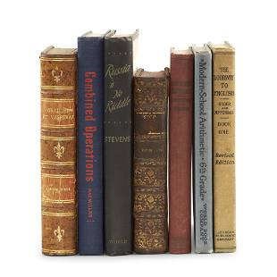 Curiosa Group of Seven Gag Books and Storage Books