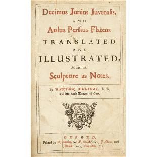 Early Printing Juvenal Juvenalis Decimus Junius