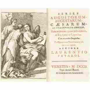 Early Printing Patarol Laurentio Series Augustorum