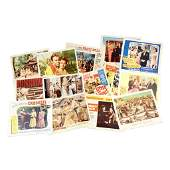 Film Group of 68 Vintage Lobby Cards