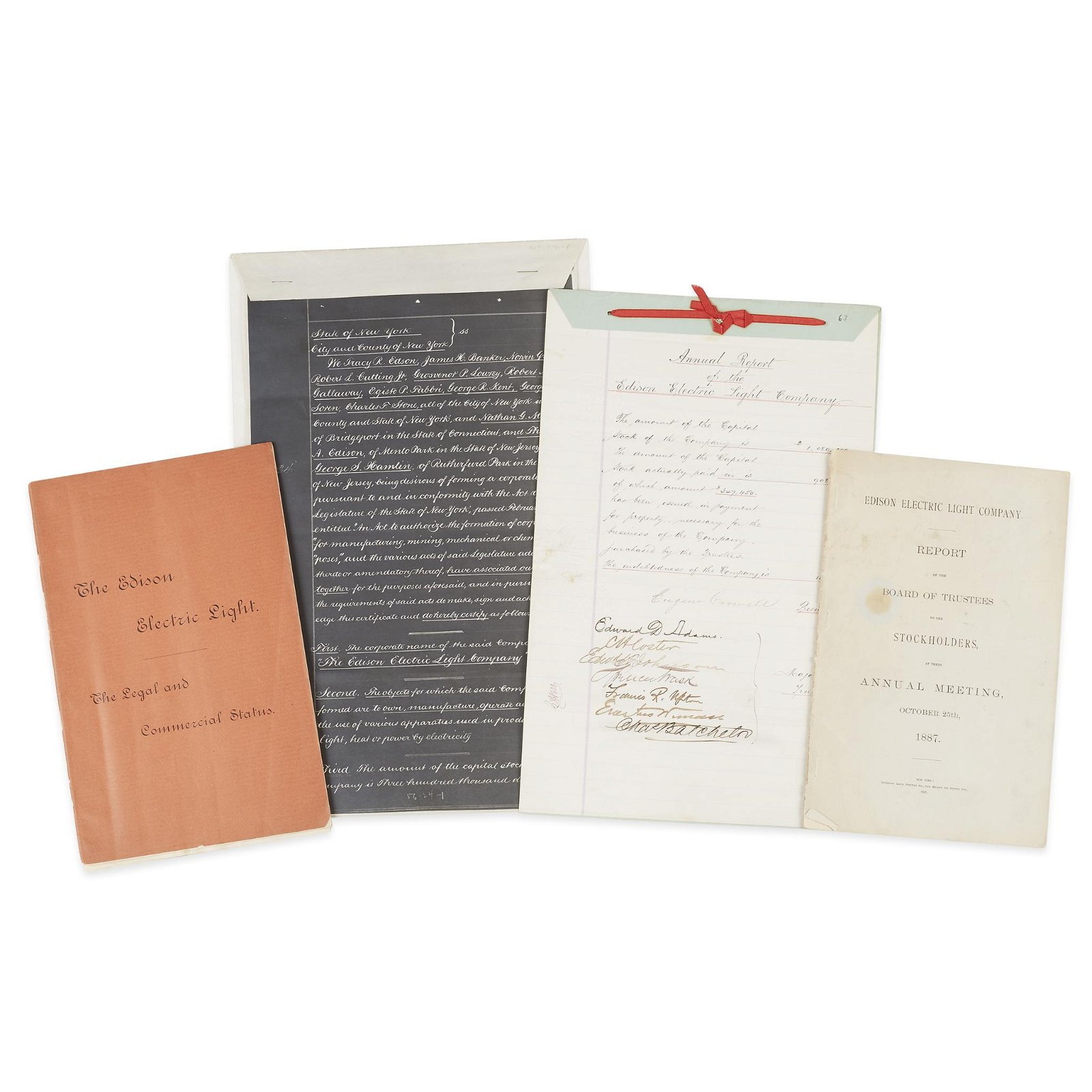 [Science, Medicine & Mathematics] [Edison, Thomas A.],