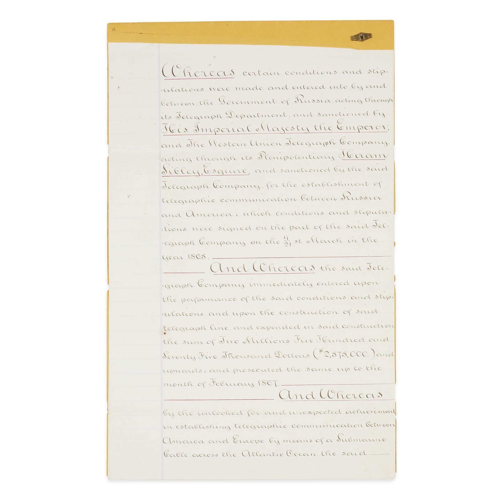 [Science, Medicine & Mathematics], Manuscript Document,