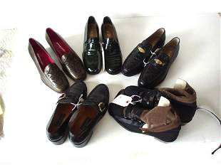 426: FIVE PAIRS OF HIGH-END SHOES AND LOAFERS Consistin