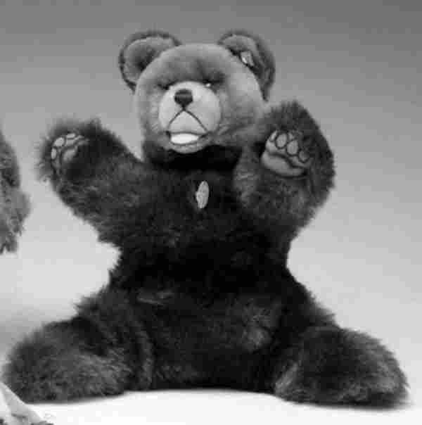 Steiff stuffed animal, , 'Molly Bear,' with origi