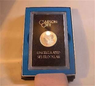 1878-CC U.S. silver dollar, , Uncirculated and ca
