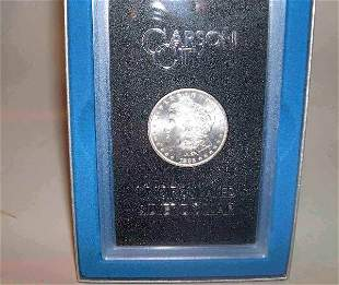 Two 1883-CC U.S. silver dollars, , Uncirculated a
