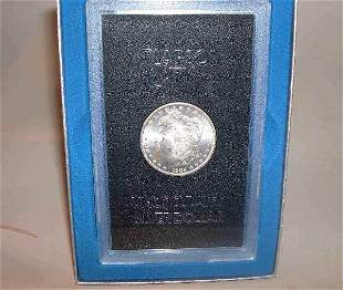 Two 1884-CC U.S silver dollars, , Uncirculated an