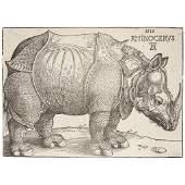 Albrecht Dürer (German, 1471–1528), , The Rhinoceros