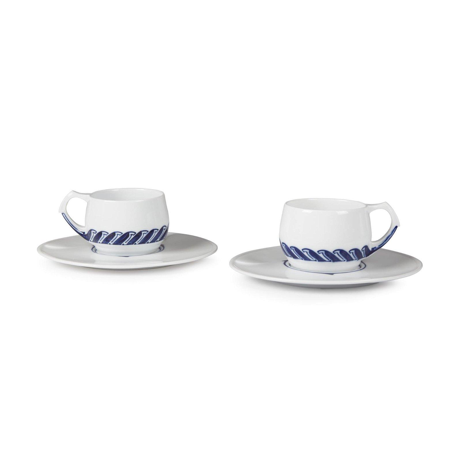 Henry van de Velde (Dutch, 1863-1957), A Pair of Coffee