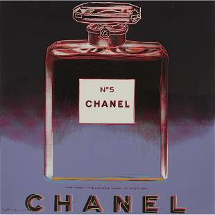 Andy Warhol (American, 1928 -1987), Chanel from Ads