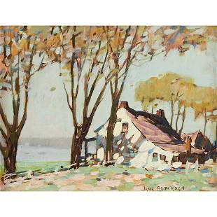Jane Peterson (American, 1876-1965), , Sea Cottage
