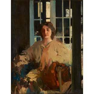 Arthur Beecher Carles (American, 1882-1952), , Mlle de