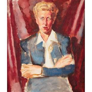 Arthur Beecher Carles (American, 1882-1952), , Portrait