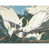 Jane Peterson (American, 1876–1965), , Cockatoos