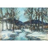 Walter Emerson Baum (American, 1884–1956), , Winter