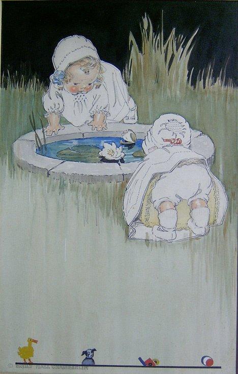 3006: EMILY HALL CHAMBERLIN (american d. 1916) CHILDREN