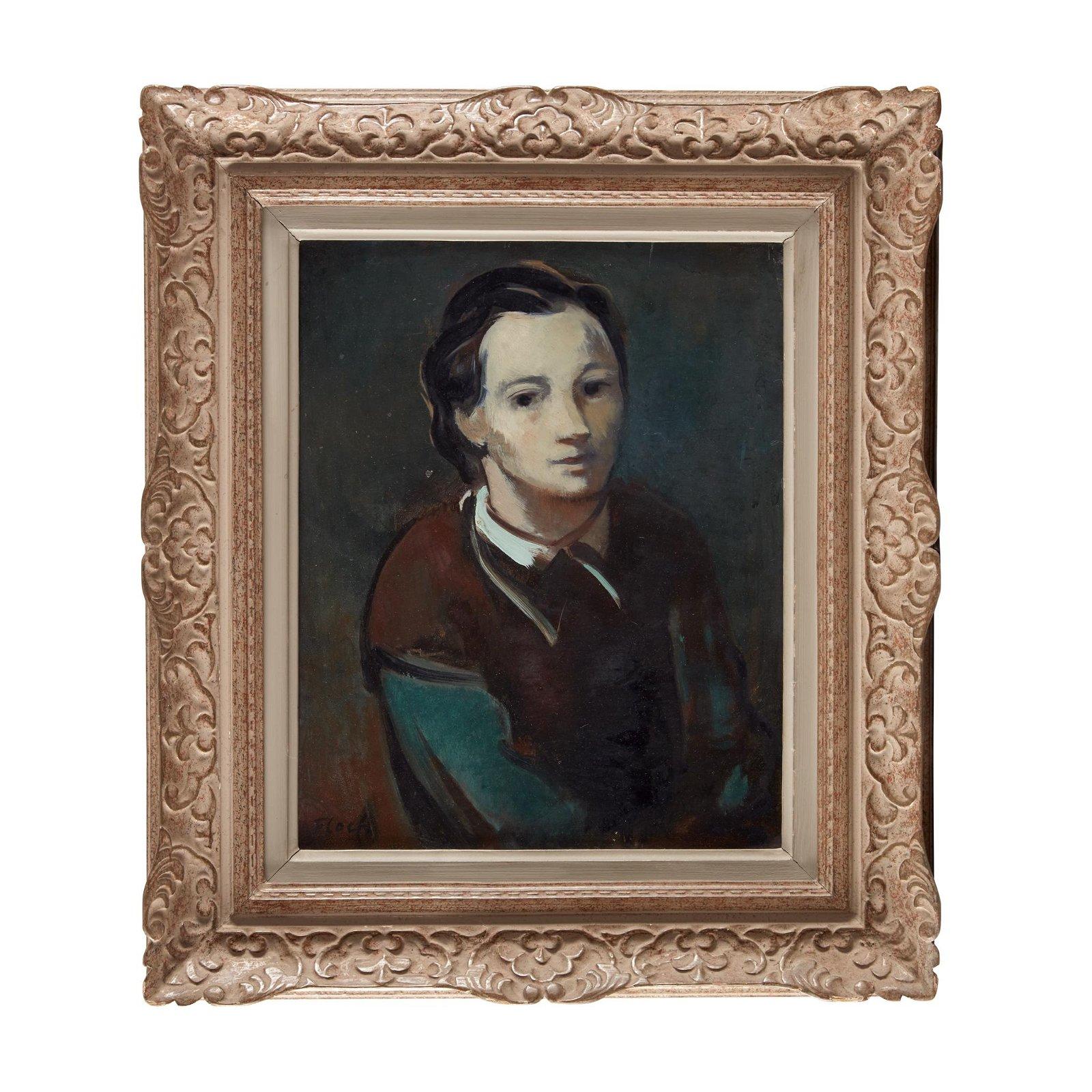 Josef Floch (American/Austrian, 1895-1977), , Portrait