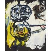Karel Appel (Dutch, 1921-2006), , Big Boy Blue