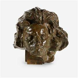 Antoine Bourdelle (French, 1861–1929), , Beethoven aux