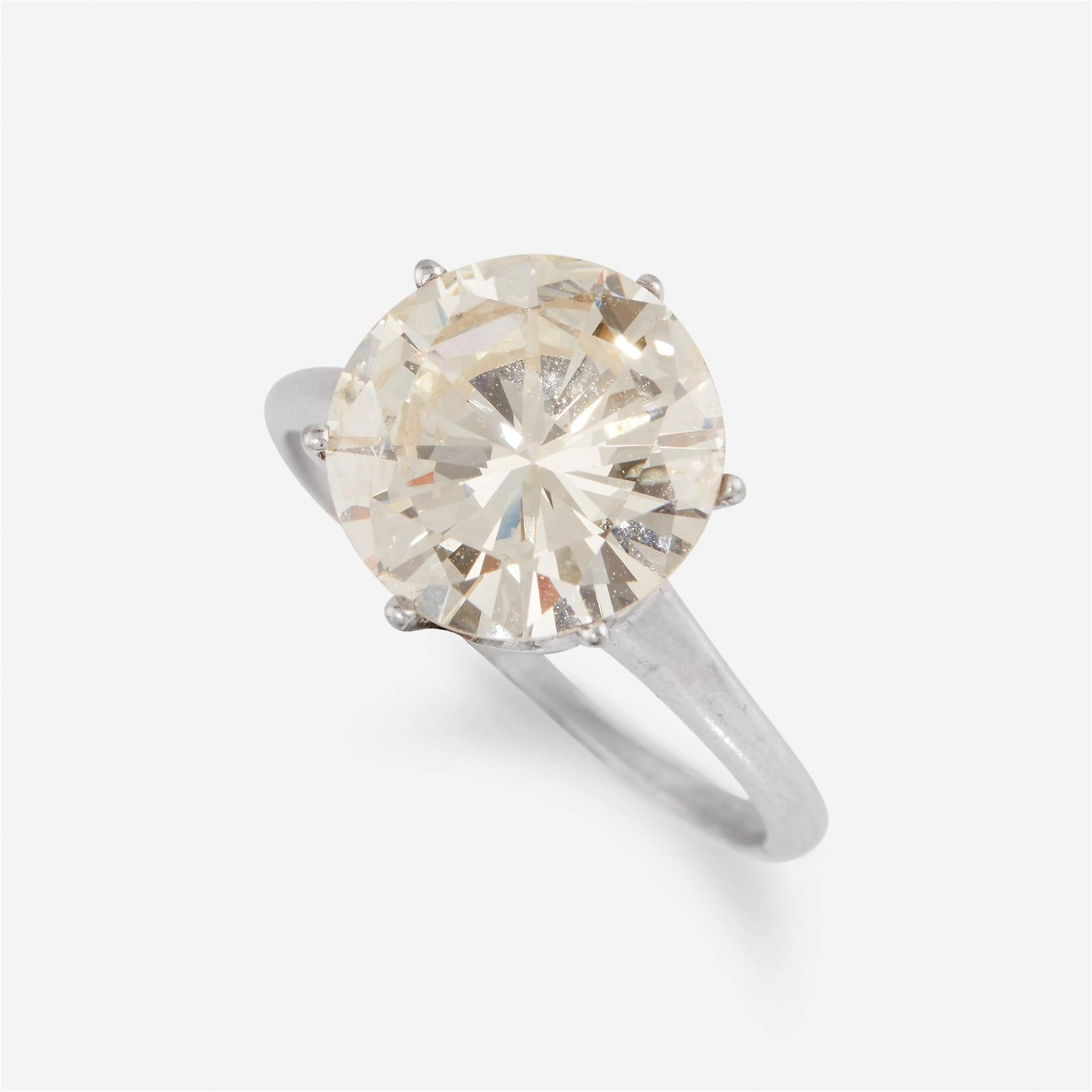 A diamond solitaire,