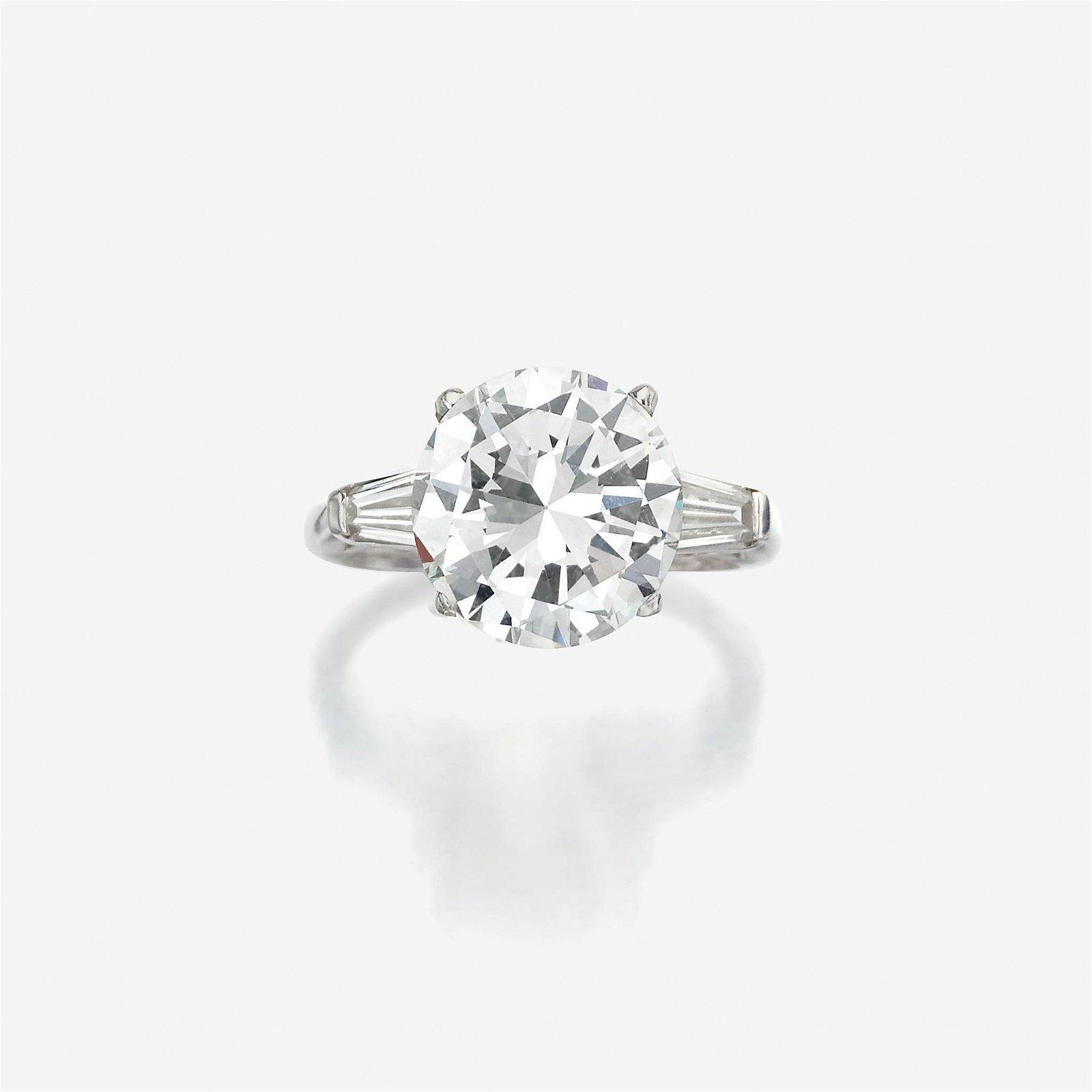 A diamond solitaire,
