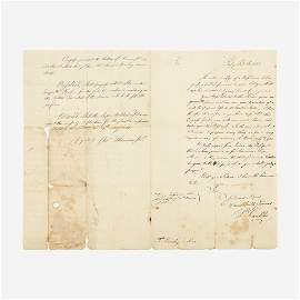 Franklin, Benjamin, Autograph Letter, signed