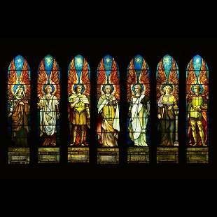TIFFANY STUDIOS, Angels Representing Seven Churches, A