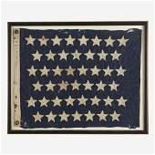 A 45Star Naval Jack commemorating Utah statehood