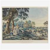 Prints Currier  Ives American Country Life