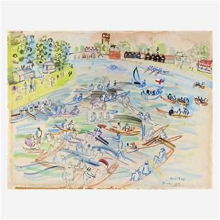 Raoul Dufy (French, 1877-1953), , Régates à Henley