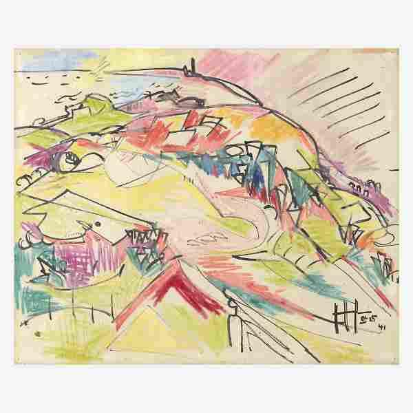 Hans Hofmann (American/German, 1880-1966), , Landscape