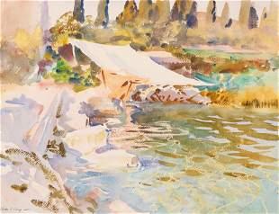 John Singer Sargent (American, 1856–1925), , Lake Garda
