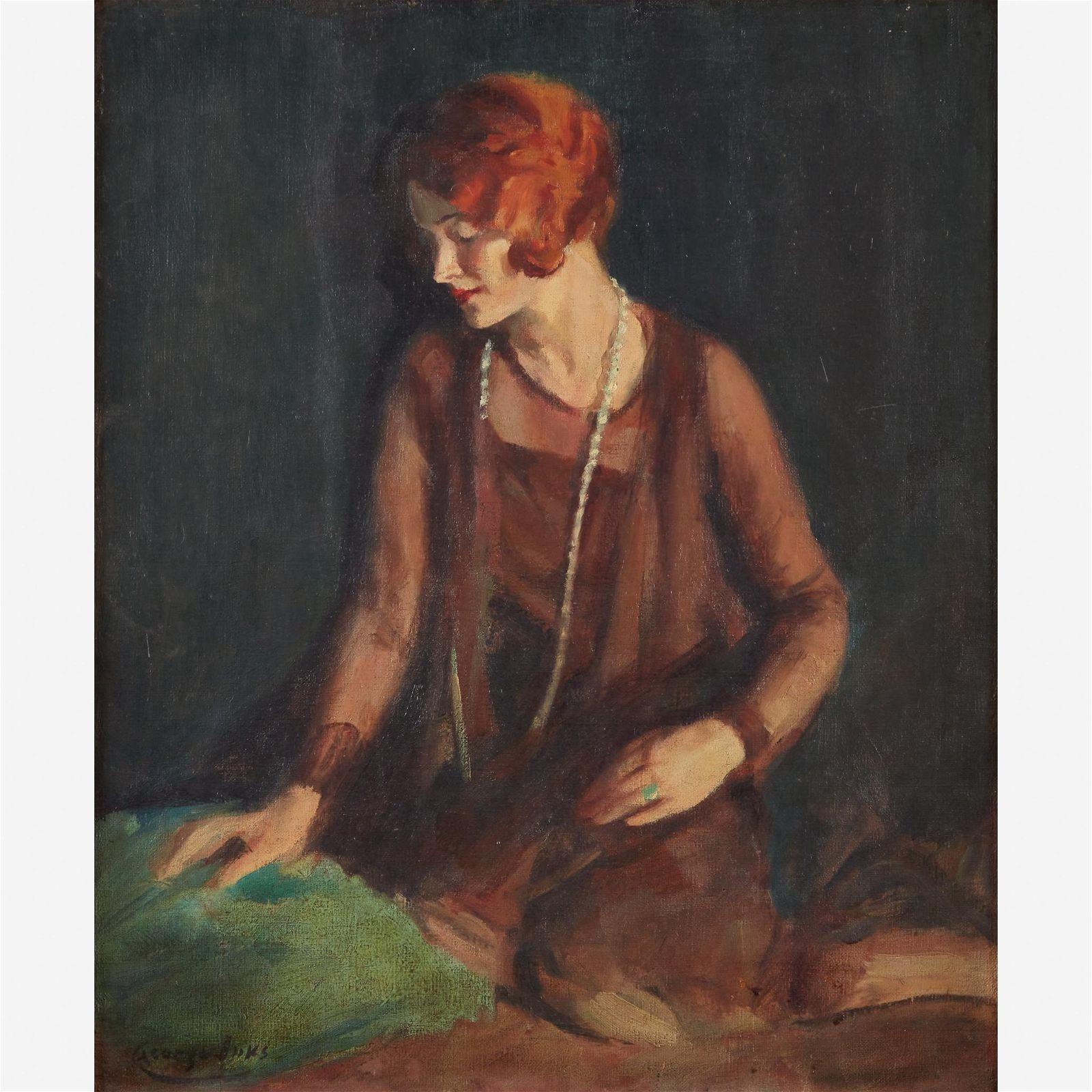 George Benjamin Luks (American, 1867–1933), , The