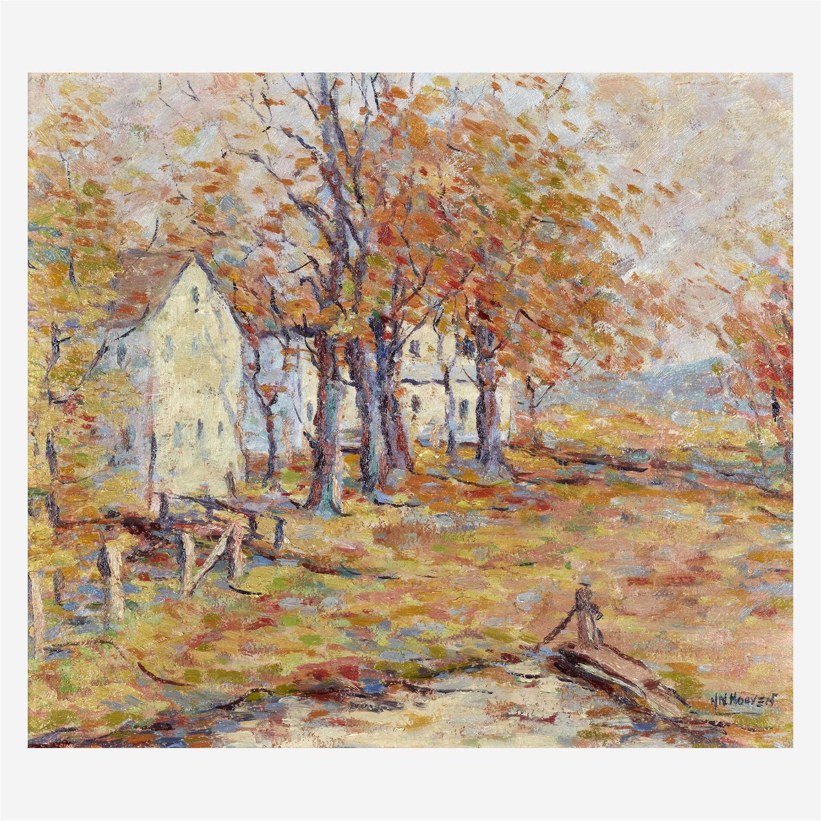 Herbert Nelson Hooven (American, 1898-1979), , Autumn