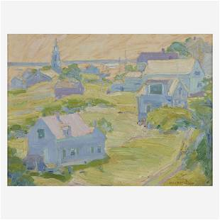 Jane Peterson (American, 1876–1965), , Grassy Hill