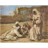 Lillian Genth (American, 1876-1953), , The Desert Game