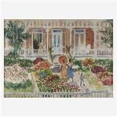 Gifford Beal (American, 1879–1956), , Houses, Nassau
