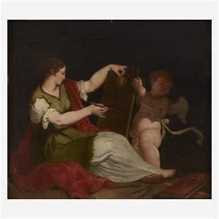 Spanish School (18th Century), , Allegory of Painting