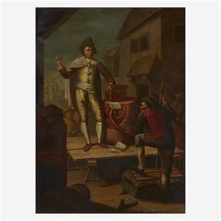 Piedmontese School (18th Century), , Medicine Show