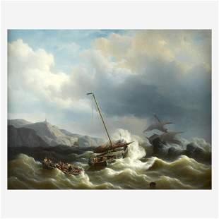 Petrus Jan (Johannes) Schotel (Dutch, 1808–1865), , The